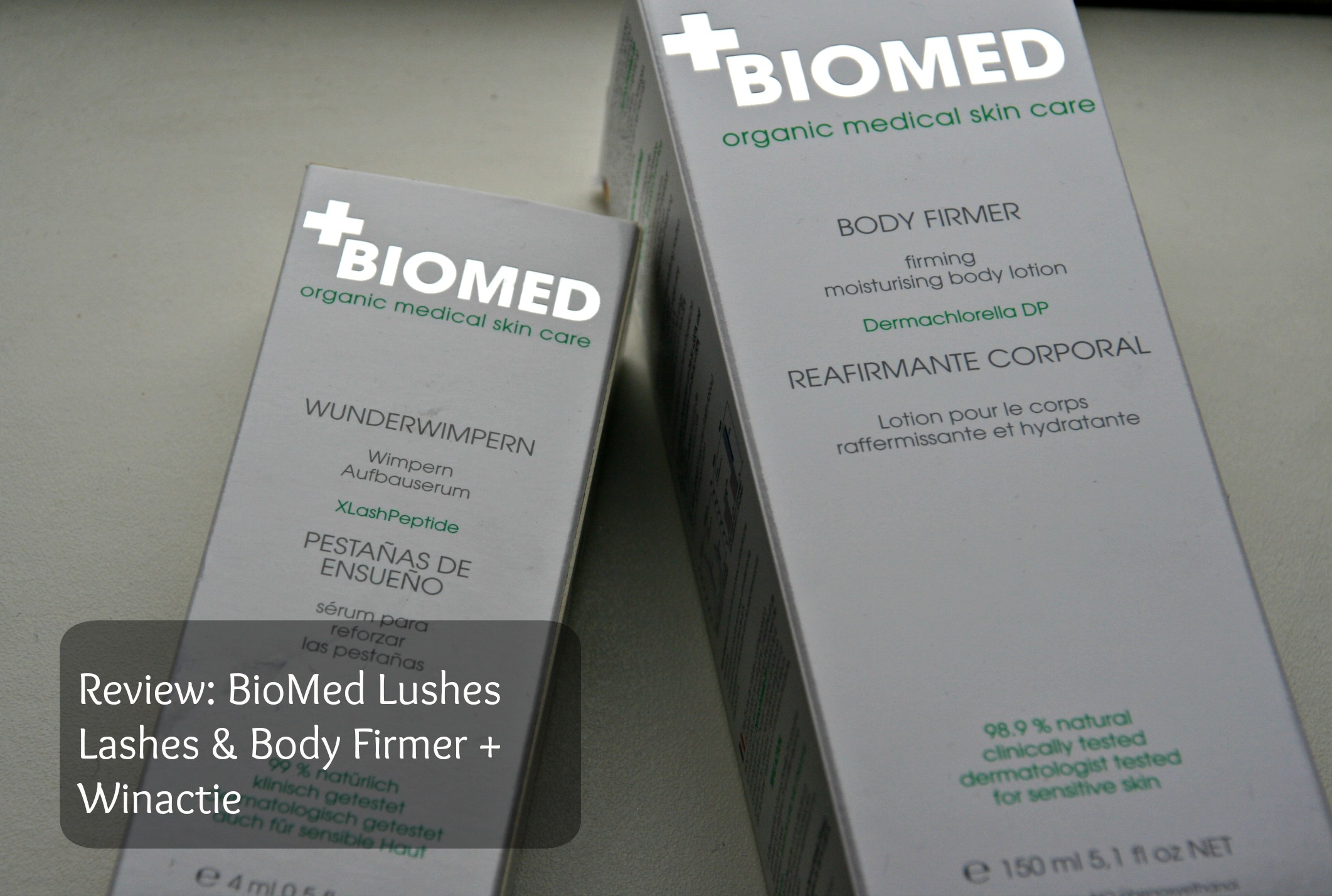 Review BioMed Lushes Lashes