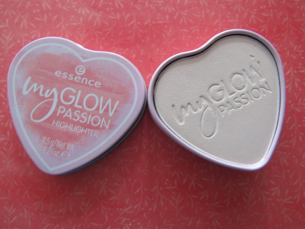 Review Essence my glow passion highlighter