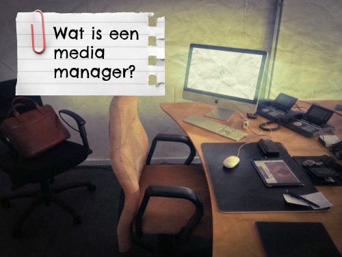 Wat is een media manager?