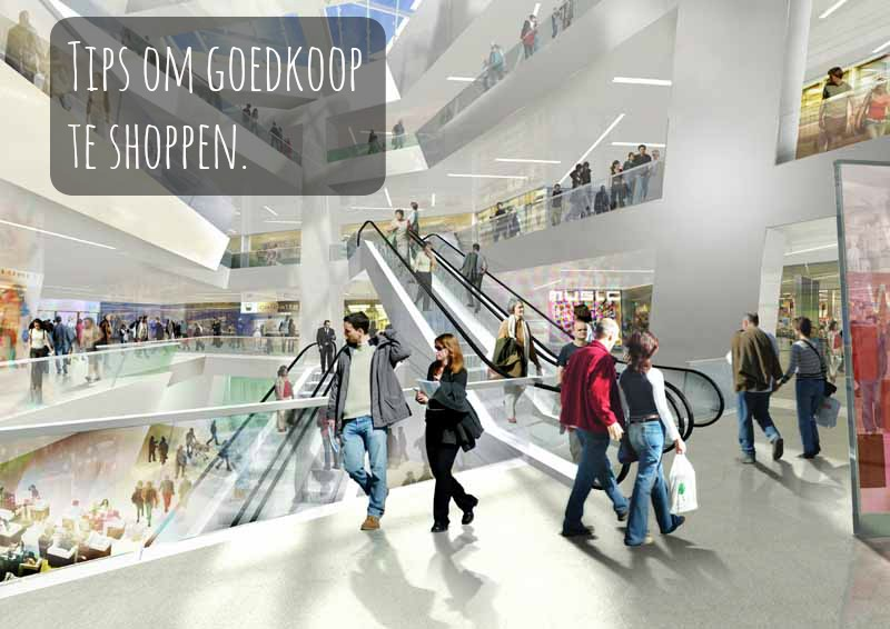 Goedkoop shoppen tips