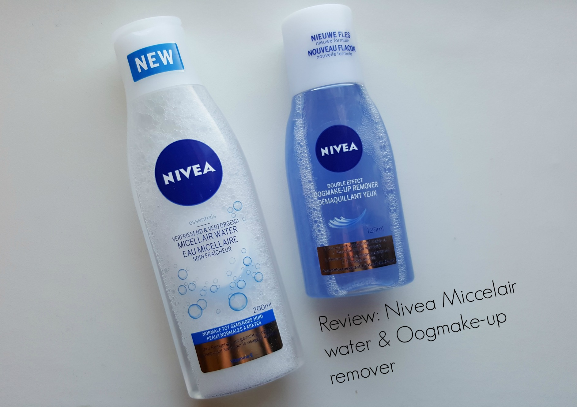 Review Nivea Micellair water