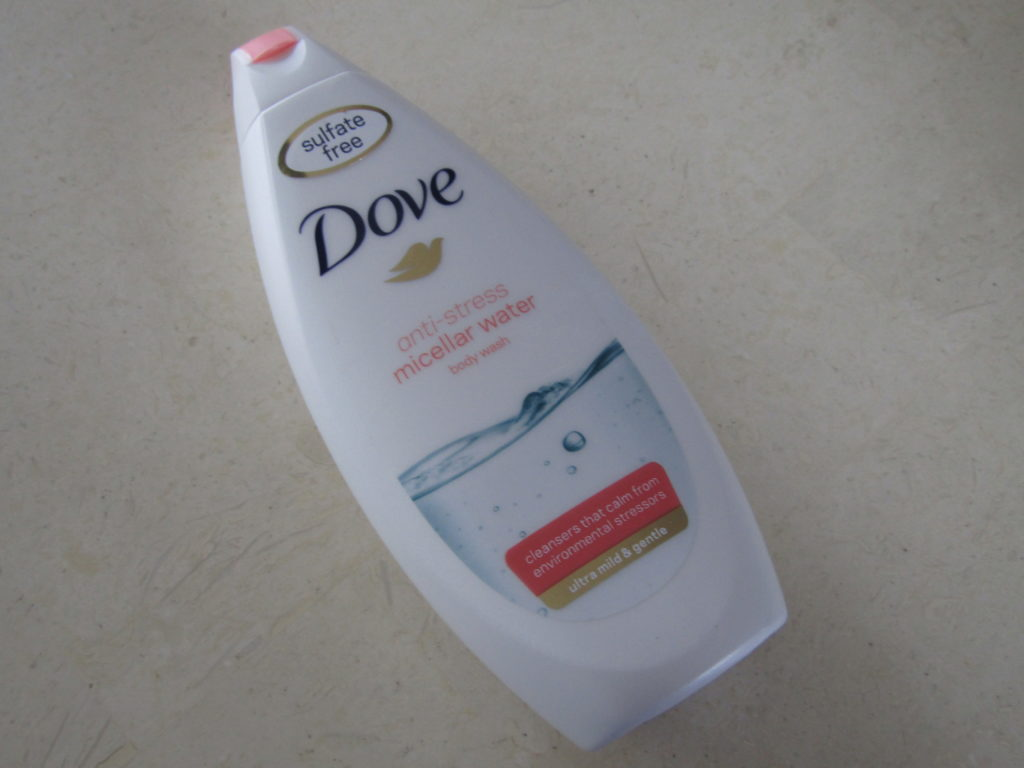 Review Dove micellar water